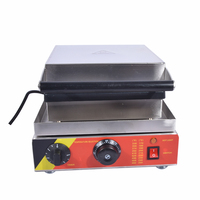 Free Shipping By DHL 1PC 220V NP 502 Electric Stainless Steel Commercial Home Use Lolly Waffle