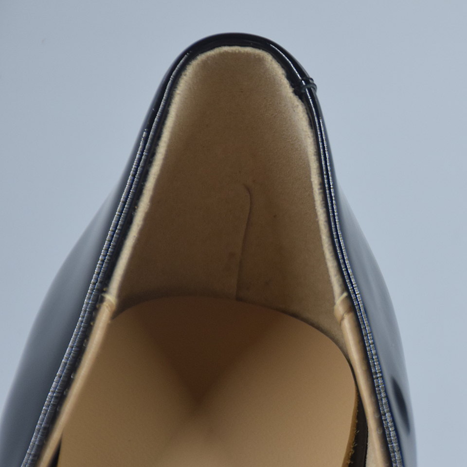 Femmes Chaussures À Talons Hauts En Cuir Véritable Chaussures De ... 21132f5921de