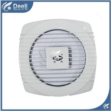 Drawstring Ventilator Kitchen fumes WC Bathroom Exhaust fan Household wall window 100% copper wire(Diameter 18cm 8 Inches