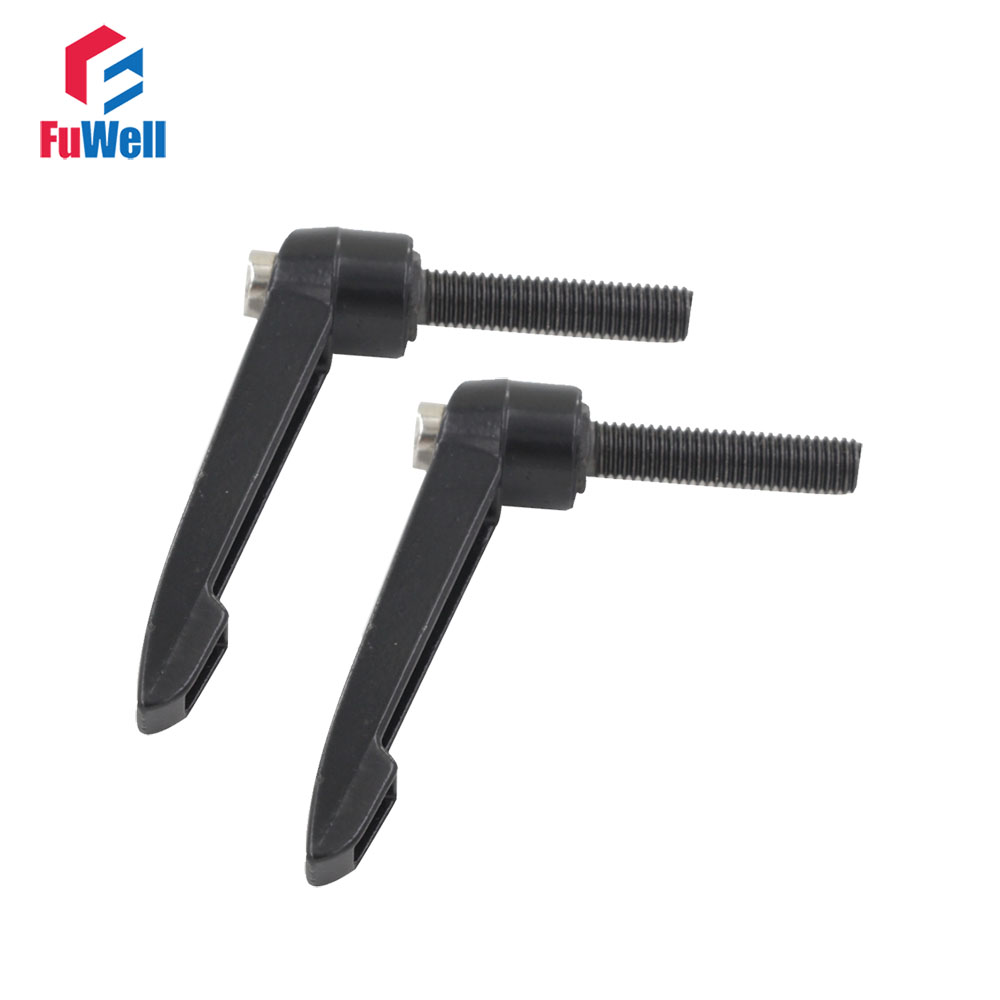 2pcs M10 x 25mm Male Thread Clamping Handle 10mm Thread Dia 25mm Thread Length  Machinery Tools Knob Adjustable Handle Lever  2pcs M10 x 25mm Male Thread Clamping Handle 10mm Thread Dia 25mm Thread Length  Machinery Tools Knob Adjustable Handle Lever