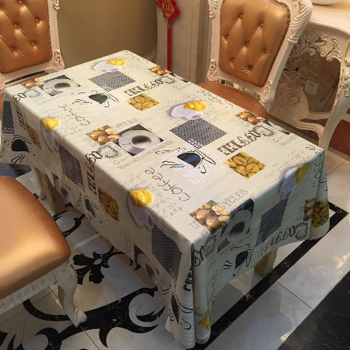 Waterproof Oilproof Tischdecke Pvc Tablecloth Dining