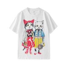 2019 Summer Men/womens casual T shirts Fashion womens BF style Tee shirt A057
