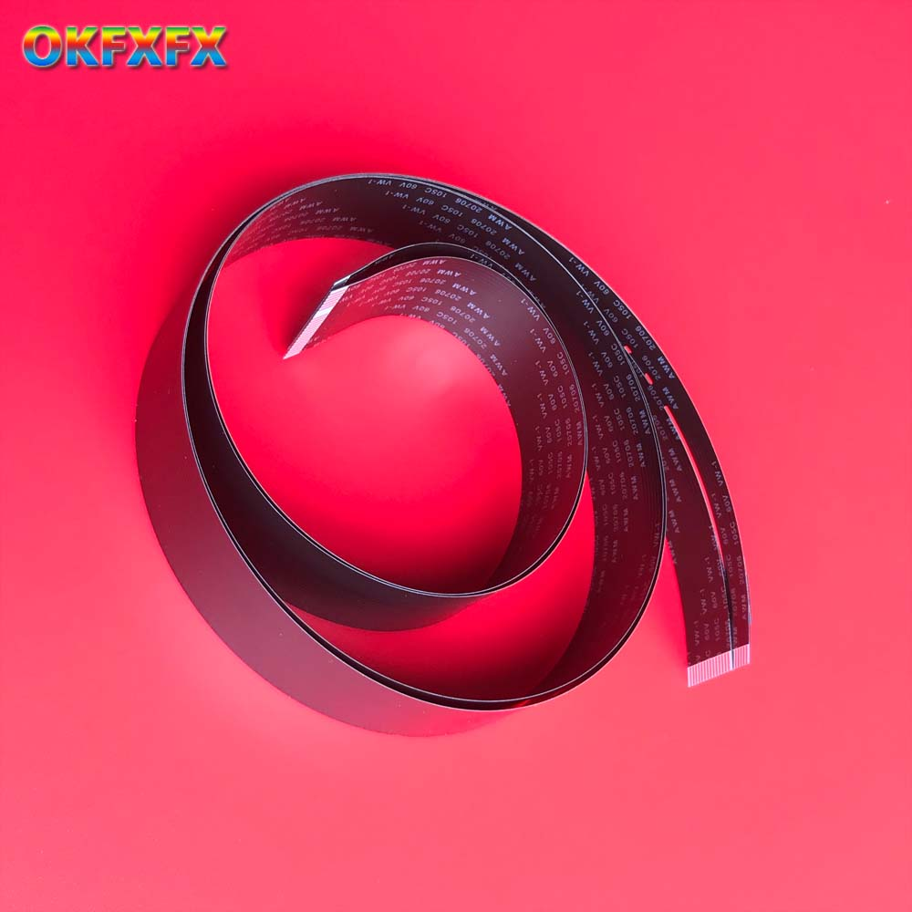 50PC FFC Flat Flex Flexible Cable CCD <font><b>Scanner</b></font> Scan CIS for <font><b>HP</b></font> M1005 <font><b>M1120</b></font> CM1015 M1213 M1522 M1132 M1136 CM1312 M1216 M251 M276 image