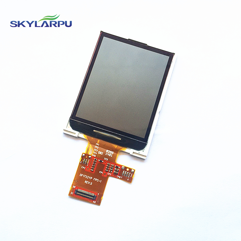 skylarpu LCD Screen for GARMIN EDGE 510 510J bicycle speed meter LCD display Screen panel (No touch screen) DF1722YP FPC-1 REV:3 tq7037cust fpc lcd displays screen