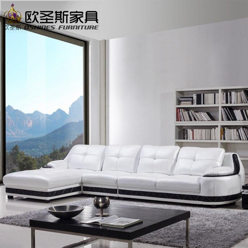 México sofá de cuero, muebles última sofá diseños 2017 en forma de L ...