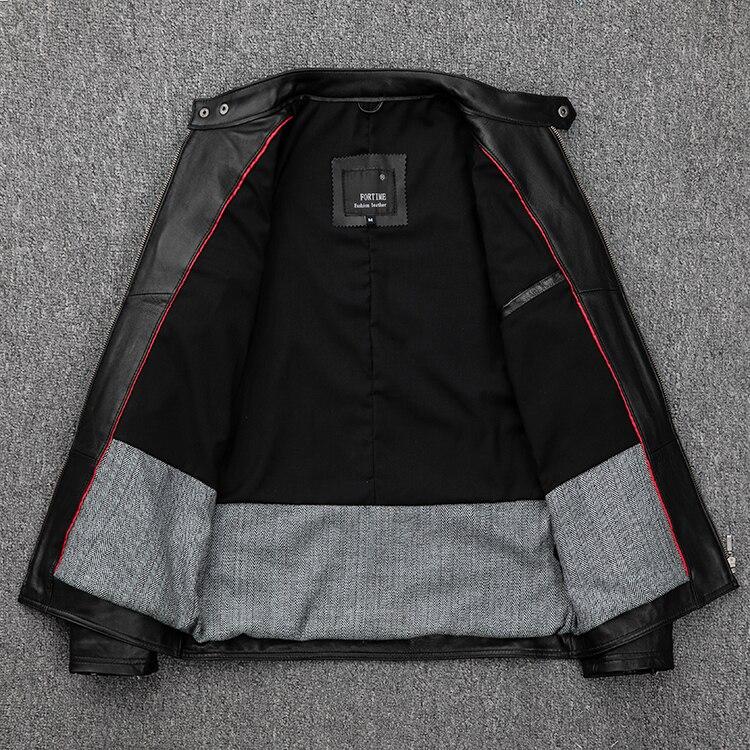 HTB1qtk aa67gK0jSZFHq6y9jVXaf Free shipping.classic casual style,Plus size soft sheepskin Jackets,men genuine Leather jacket.motor biker leather coat,sales