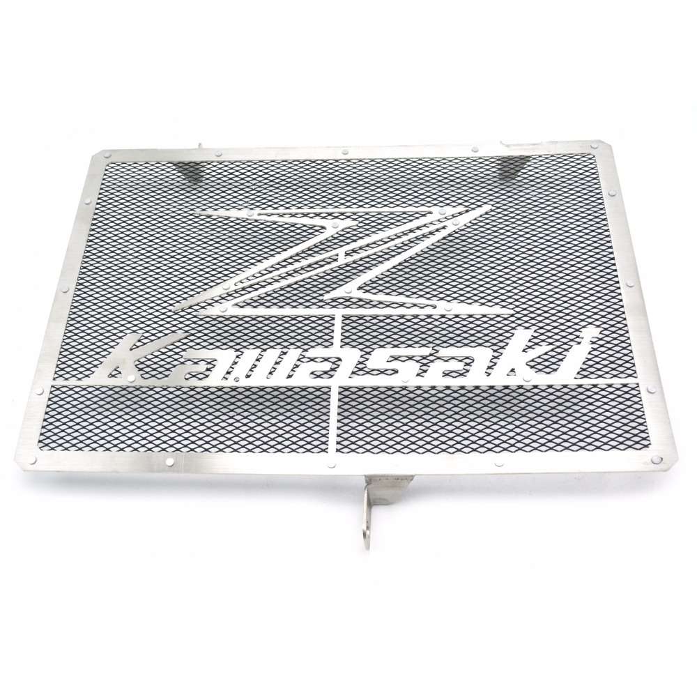 Radiator Protective Cover Grill Guard Grille Protector For Kawasaki Z750 Z1000 2007 2008 2009 2010 2011 2012 2013 2014 2015 2016 motorcycle stainless steel radiator guard protector grille grill cover for kawasaki z750 2010 2011 2012 2013 2014 2015 2016