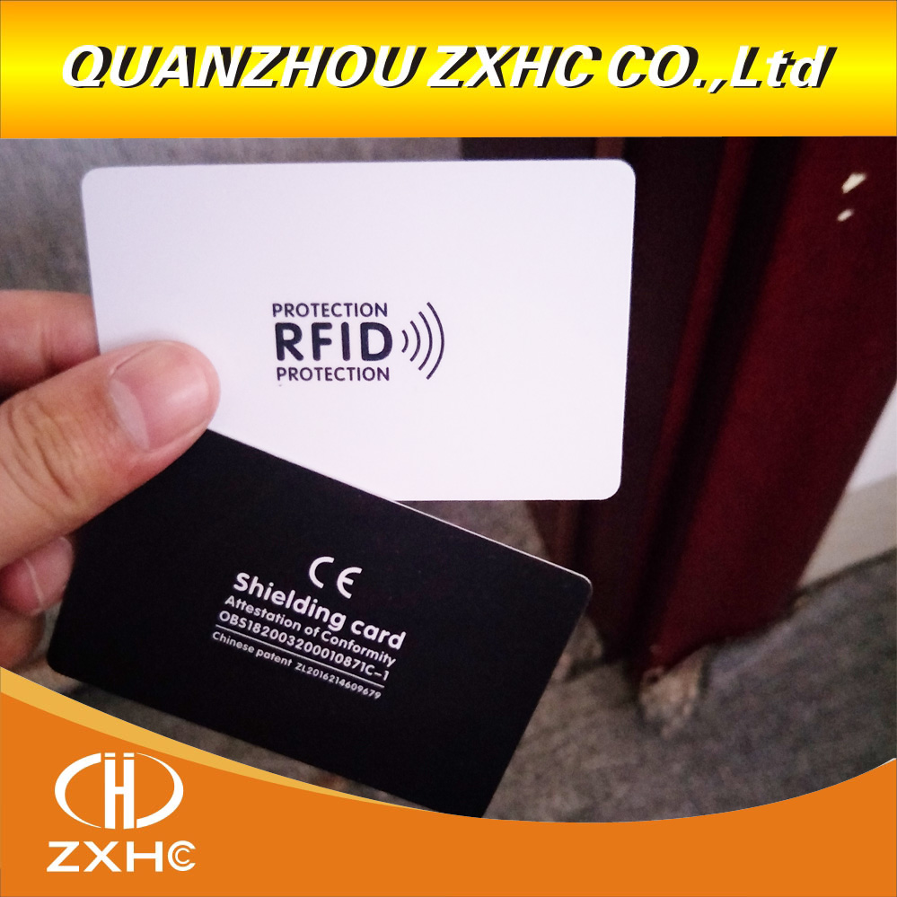 3pcs/lot RFID Anti-Theft Shielding NFC Information Anti-theft Shielding Card Gift Shielding Module Anti-theft  Blocking Card