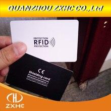 Tarjeta de protección antirrobo NFC, módulo de protección de regalo, tarjeta de bloqueo antirrobo, 3 unids/lote, blindaje RFID