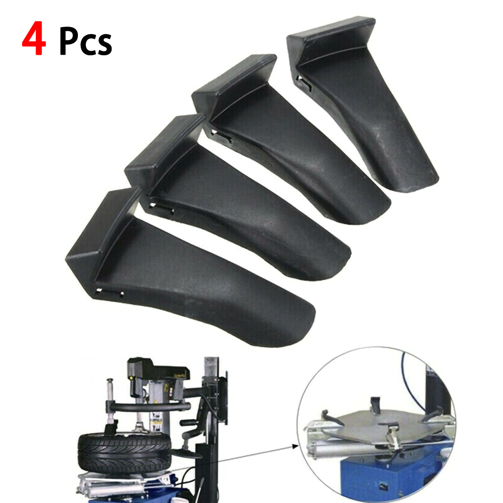 4 Pcs Car Rim Protection For Tire Changer Plastic Protective Jaws Accessories Tyre Changer Wheel Protector Clamp Guards