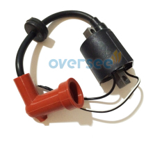 OVERSEE 40X 66T-85570-00-00 Ignition Coil Replaces For 40HP Parsun  YAMAHA Outboard Engine
