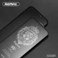 Protector de pantalla de vidrio templado de cubierta completa REMAX 9D para iPhone XS XR XS MAX película de superficie curvada