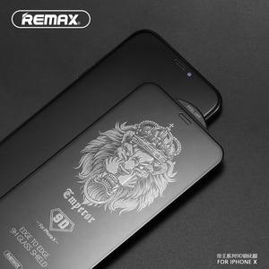 Image 1 - REMAX 9D Full Coverกระจกนิรภัยป้องกันหน้าจอสำหรับiPhone XS XR XSสูงสุด11 11PRO 11PROMAX 12PRO 12PROMAXพื้นผิวโค้งฟิล์ม
