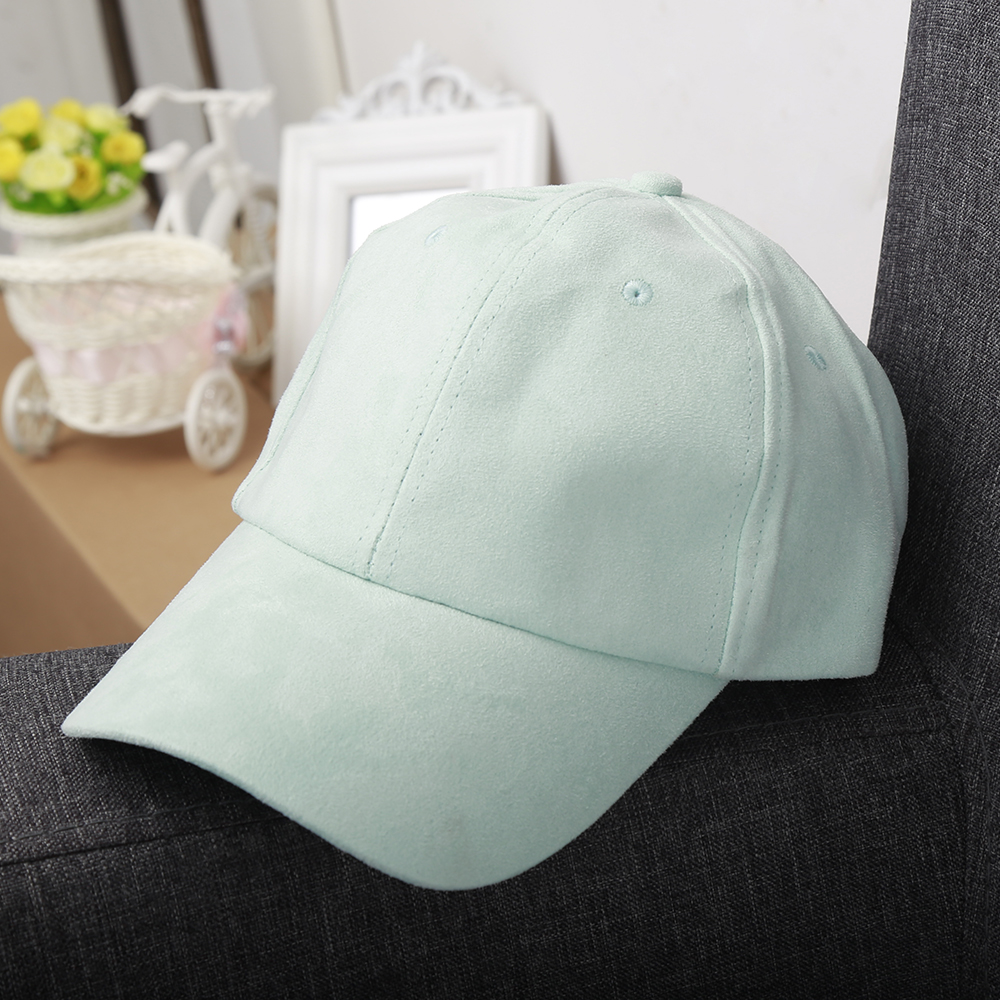 403532906c0 1PC Fashion Cool Unisex Men Women Soft Faux Suede Baseball Cap Snapback  Visor Four Season Sport Sun Adjustable Hat 6 Colors-in Baseball Caps from  Men s ...