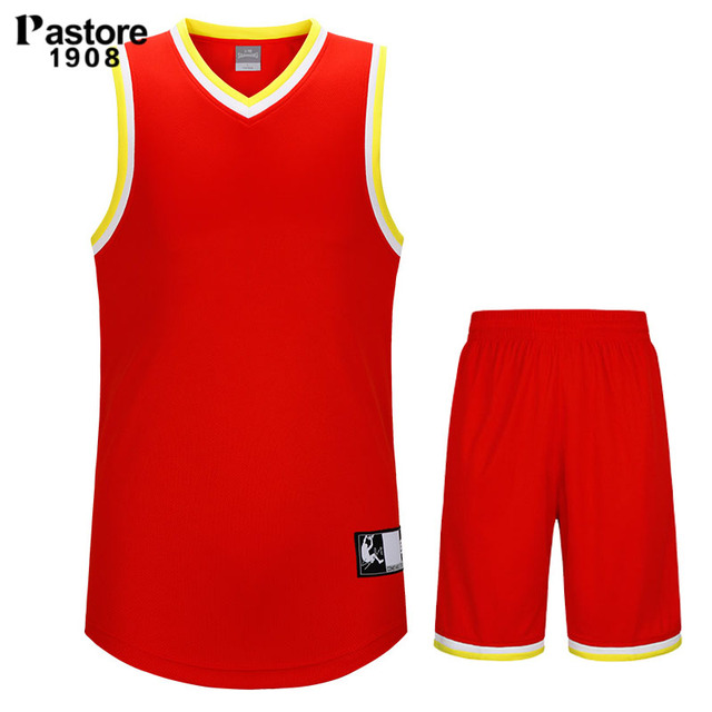 pastore 1908 basketball jersey suit mens custom jersey quick dry breathable running sports jersey shorts training pattern 91213