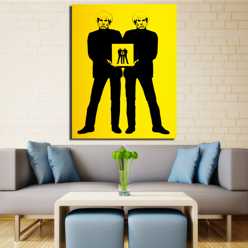 2017 Andy Warhol Wall Pictures Creative Oil Painting Print Canvas Top Idea Decor Wall Art For Wall Painting No Framed-in Painting u0026 Calligraphy from Home ...  sc 1 st  AliExpress.com & 2017 Andy Warhol Wall Pictures Creative Oil Painting Print Canvas ...