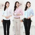 New Plus Size Fashion Uniform Style Formal Pantsuits Women Work Wear Suits Blouses And Pants For Ladies Office Clothing set