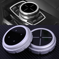 CITALL New Silver Replacement Bigger Multimedia Knob Cover IDRIVE Button Fit For BMW F10 F20 F30