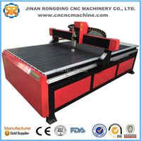 Prezzo economico T-scanalatura tavolo cnc router 1224 per la lavorazione del legno taglio di posti di lavoro