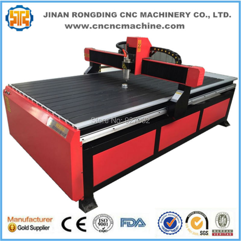 Economic Price T-slot Table Cnc Router 1224 For Wood Carving Cutting Jobs