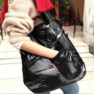 Envío gratis algodón caliente del bolso de mano bolsos de invierno bolsos mujere