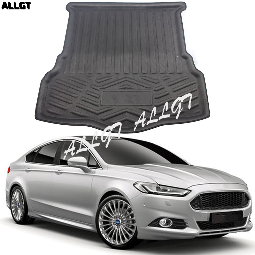 Rear Trunk Cover Cargo Mats Floor Protector Boot Liner Tray For Ford Mondeo 2013 2014 2015 2016 2017 2004-06