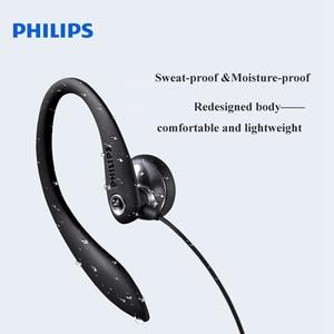 Image 2 - 100% Original PHILIPS SHS3305  earphone  headsets  ear Hanging  Type Headphones Sports Support smartphones  For Samsung Xiaomi