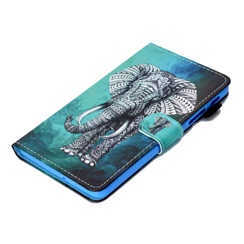 SM-T280 T285 Cute Cover Soft Silicon Bag For Samsung Galaxy Tab A / A6 7.0 Inch Case Lovely Owl Flower Tree Butterfly Print Bag