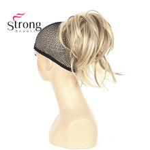 Women's Ladies Girls Synthetic short Curly Amazing shape Claw Clip Ponytail Pony Tail Hair Extension COLOUR CHOICES