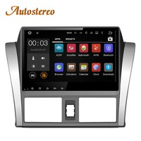 Car No DVD player Android 8.0 Car GPS navigation For Toyota Vios YARIS Sedan 2013 2016 multimedia radio head unit tape recorder