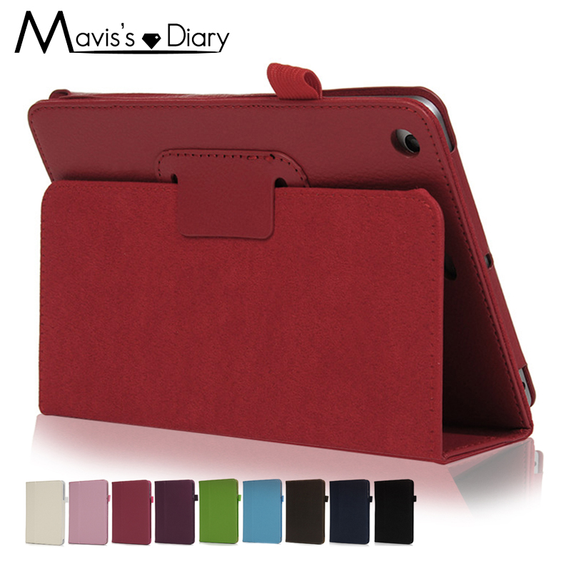 For Apple ipad Mini 3 2 1 Flip Litchi PU Leather Case Cover Protective Case Funda Auto Sleep /Wake Up Smart Stand Holder