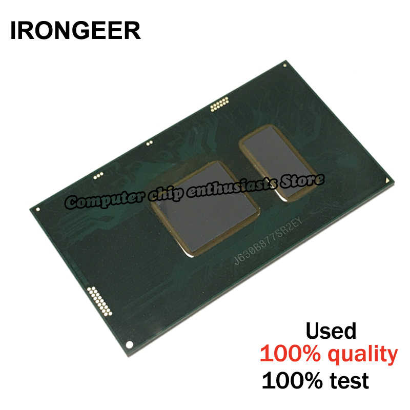 1pcs tested i5-6200U SR2EY  i5 6200U SR2EY CPU BGA chipest with balls good quality Free  shipping