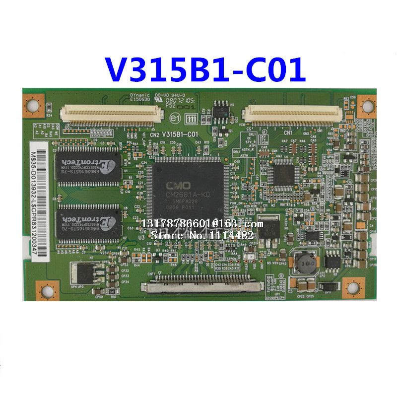 Board V315B1-C01 Good-Test Connect With T-CON 100%Original