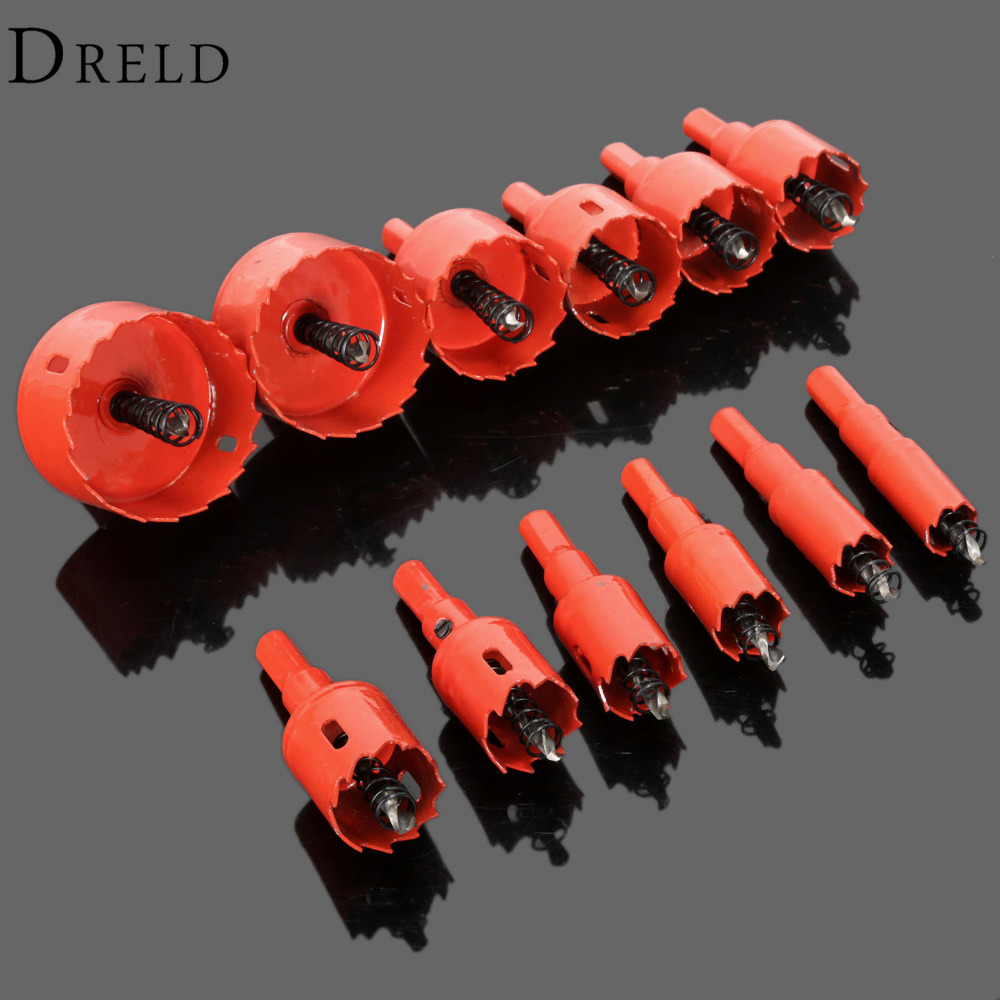 1Pc 16mm-53mm Drill Bit Hole Saw Twist Drill Bits Cutter Power Tool Metal Holes Drilling Kit Carpentry Tools for Wood Steel Iron 53 16