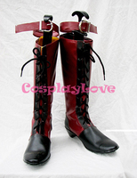Black Butler Ciel Phantomhive Cosplay Boots Shoes Custom-made Cheap For Christmas Halloween