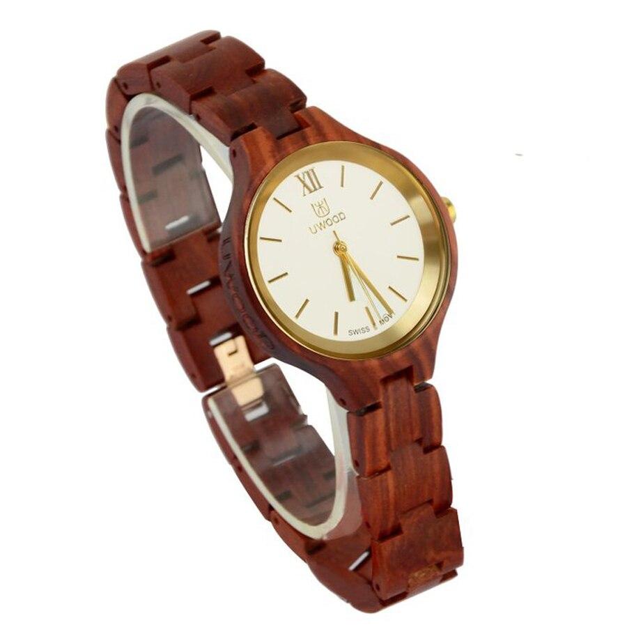Новейшие женские часы люксовый бренд 2018 женские деревянные часы для женщин женские кварцевые часы женские наручные часы relogio feminino - 3