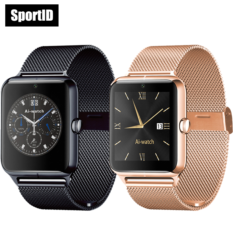 Smart Watch Men Luxury Watches Women Z50 smartwatch Support SIM TF Card Pedometer Monitor Call Wristwatch for Apple Android smart watch v360 for apple iphone huawei android ios smartwatch with siri function update support men women