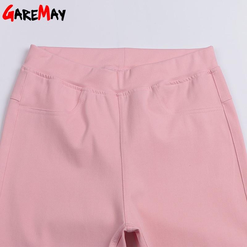Ležerne hlače visoke ženske tanke donje hlače Stratch Pantalon - Ženska odjeća - Foto 6