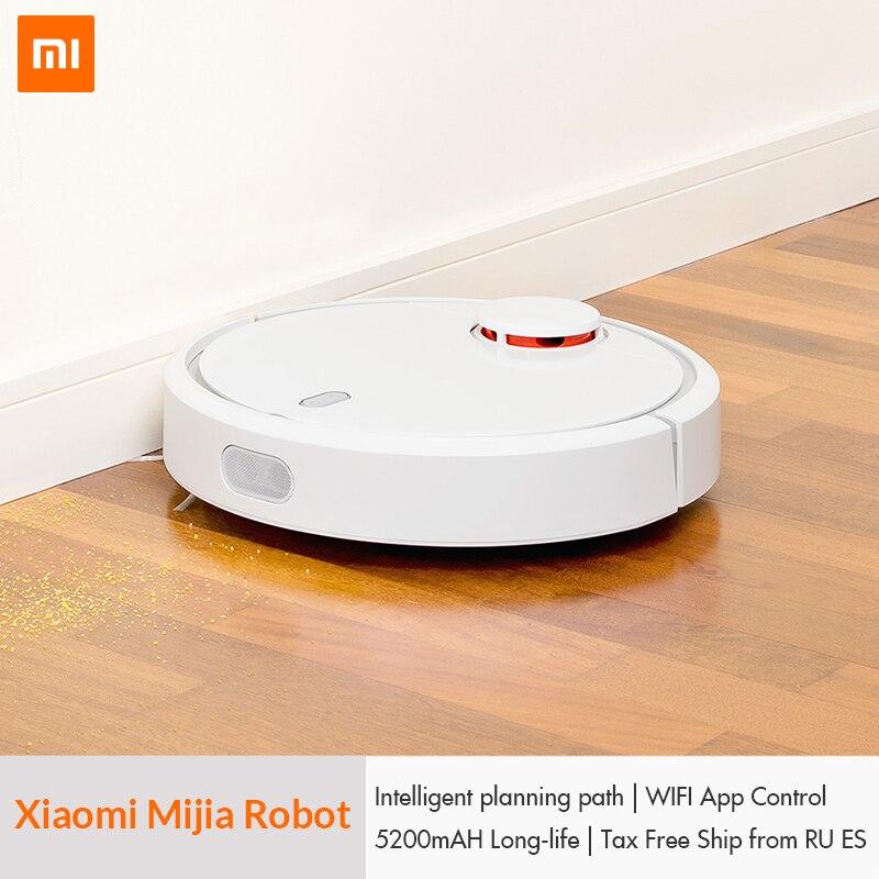 Original XIAOMI Mijia MI Robot <font><b>Vacuum</b></font> Cleaner for Home Automatic Sweeping Dust Sterilize Smart Planned Mobile App Remote Control
