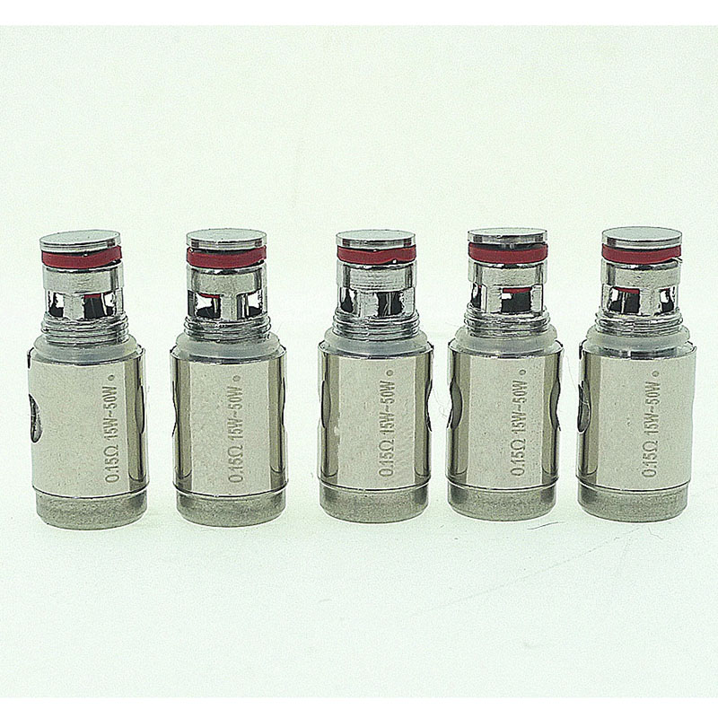 JVSURF 5pcs/lot 0.5ohm 1.2ohm 1.5ohm For SSOCC Subtank Subox Mini Tank Replacement Coil Electronic Cigarette Head Atomizer Cores