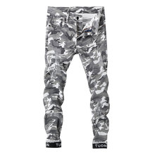 a7aa838dc87ae Camouflage Skinny Jeans for Men Werbeaktion-Shop für Werbeaktion ...