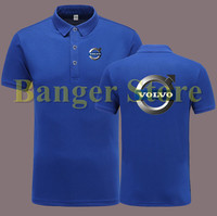 Volvo 4S Shop POLO Shirt Short Sleeve Overalls Work Clothes For Men And Women