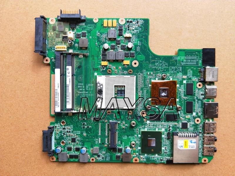KEFU Main Board A000073390 DA0TE2MB6G0 REV G For Toshiba Satellite L640 L645 Laptop Motherboard Intel HM55 HD Graphics