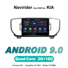 Navirider autoradio gps navigation android 9.0 car radio Player for KIA SPORTAGE 2016 2din bluetooth stereo auto accessories
