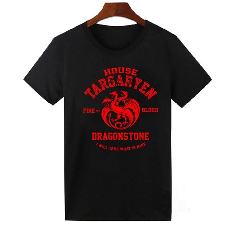 Games of Thrones T Shirts Women Men A Song of Ice and Fire Targaryen Tops Tee Shirt Summer Casual Hipster T-Shirt Cotton Tshirt