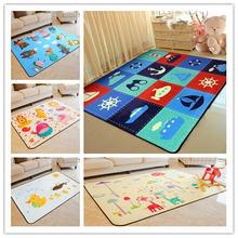 Новинка 2019 Мультяшные ковры для гостиной детские коврики и