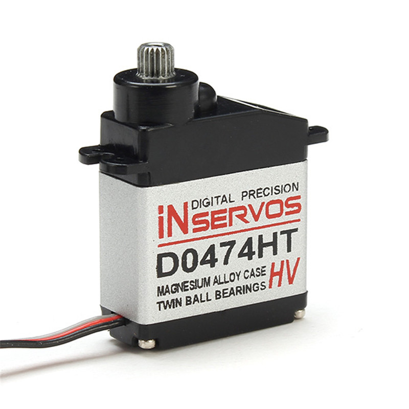 купить Newest Inservos Digital 7.4v 3.6kg Metal Gear Micro Servo D0474HT-HV 12-Bit For RC Helicopter Quadcopter Spare Parts Accs недорого