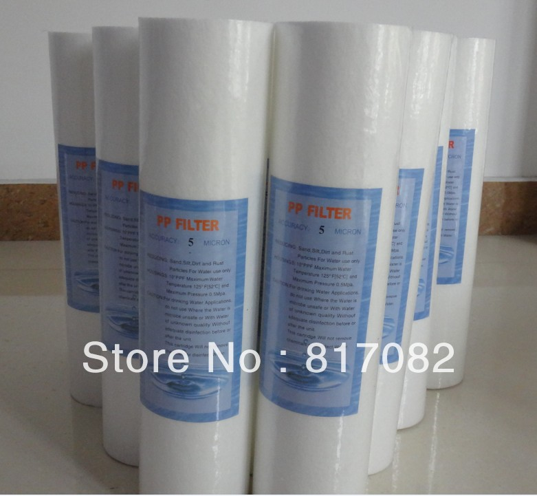 free shipping 2pcs 5 reverse osmosis water system filter sediment