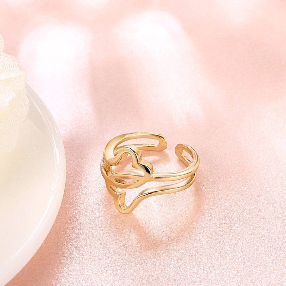 High Quality 3colors Clouds Adjust Rings For Women Antiallergic ...