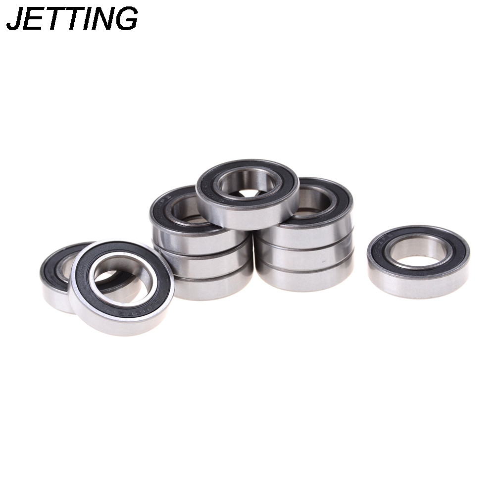 JETTING 10PCS <font><b>6902</b></font>-2RS Bearing 15x28x7 mm Metric Thin Section <font><b>6902</b></font> <font><b>RS</b></font> Ball Bearings image